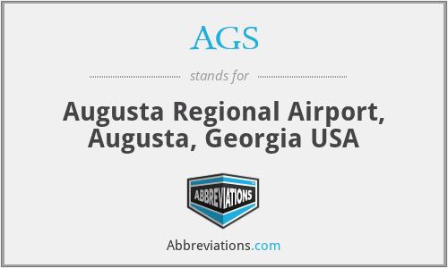 AGS - Augusta Regional Airport, Augusta, Georgia USA