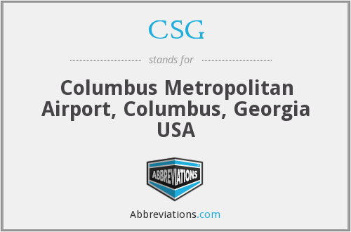 CSG - Columbus Metropolitan Airport, Columbus, Georgia USA