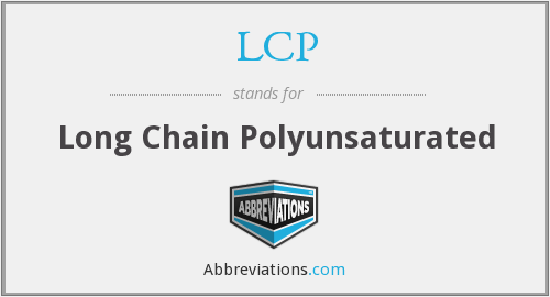LCP - Long Chain Polyunsaturated