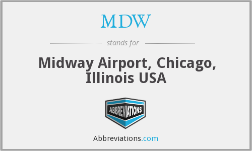 MDW - Midway Airport, Chicago, Illinois USA