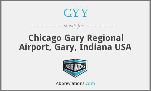 GYY - Chicago Gary Regional Airport, Gary, Indiana USA