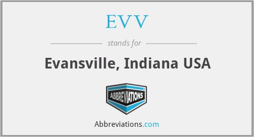 EVV - Evansville, Indiana USA