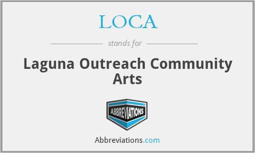 LOCA - Laguna Outreach Community Arts