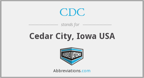 CDC - Cedar City, Iowa USA