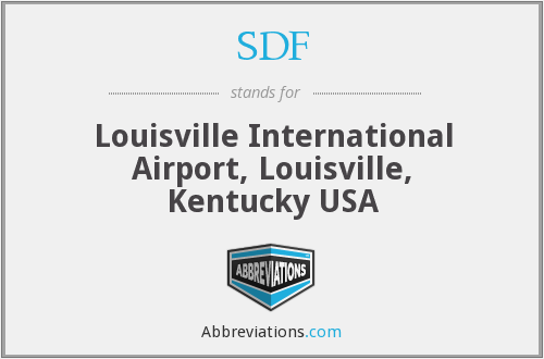 SDF - Louisville International Airport, Louisville, Kentucky USA