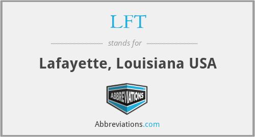 LFT - Lafayette, Louisiana USA