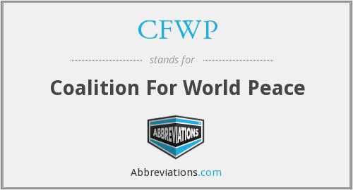 CFWP - Coalition For World Peace