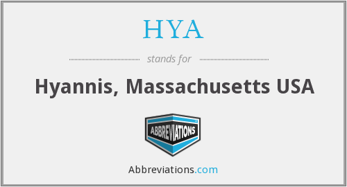 HYA - Hyannis, Massachusetts USA