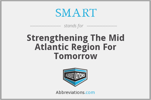 SMART - Strengthening The Mid Atlantic Region For Tomorrow