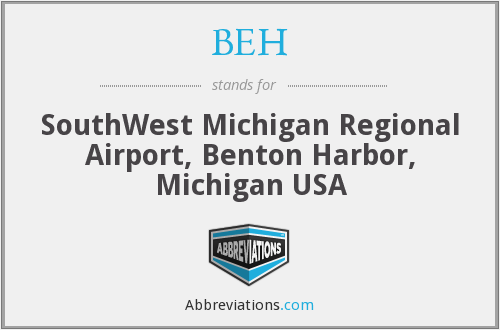 BEH - SouthWest Michigan Regional Airport, Benton Harbor, Michigan USA