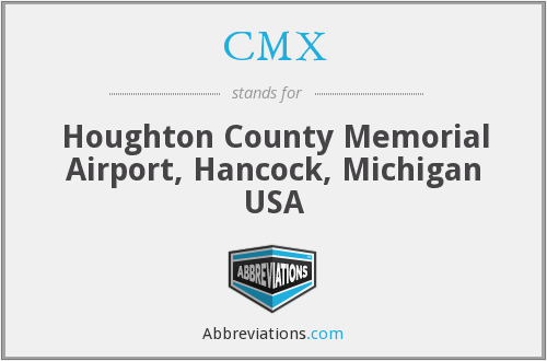 CMX - Houghton County Memorial Airport, Hancock, Michigan USA