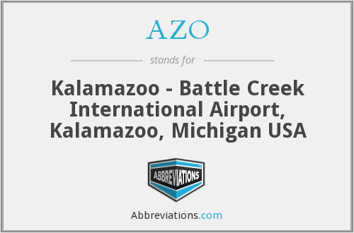 AZO - Kalamazoo - Battle Creek International Airport, Kalamazoo, Michigan USA