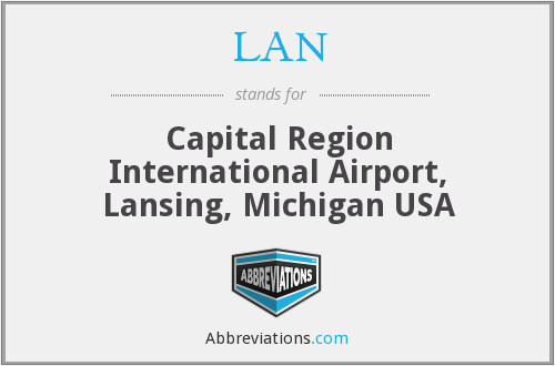 LAN - Capital Region International Airport, Lansing, Michigan USA