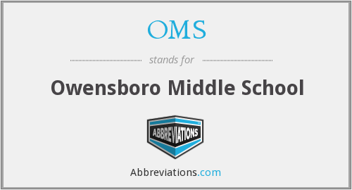 OMS - Owensboro Middle School