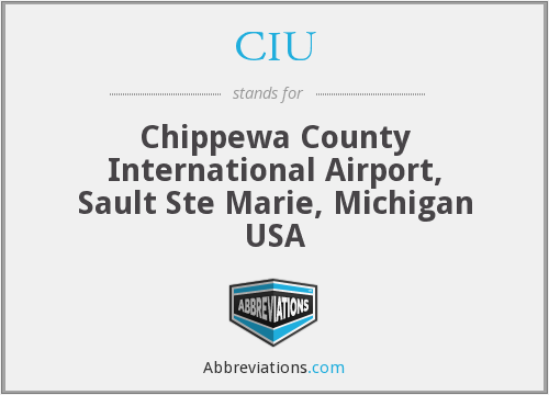 CIU - Chippewa County International Airport, Sault Ste Marie, Michigan USA