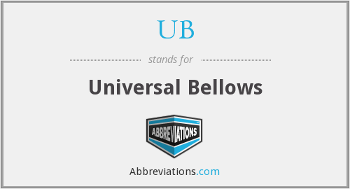 UB - Universal Bellows