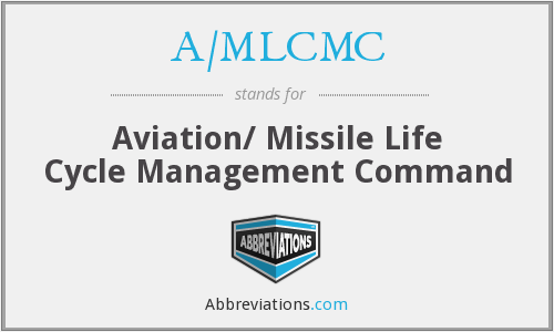 A/MLCMC - Aviation/ Missile Life Cycle Management Command