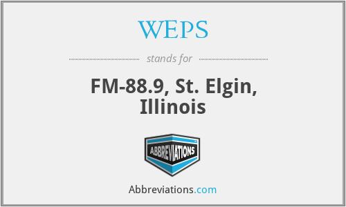 WEPS - FM-88.9, St. Elgin, Illinois