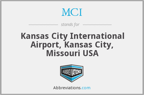 MCI - Kansas City International Airport, Kansas City, Missouri USA