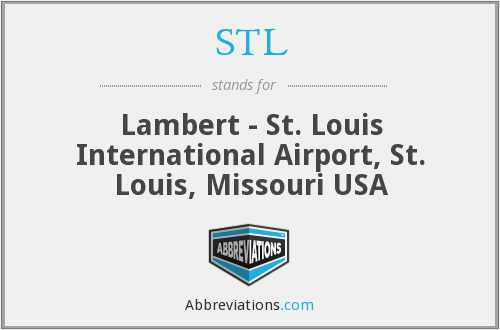 STL - Lambert - St. Louis International Airport, St. Louis, Missouri USA