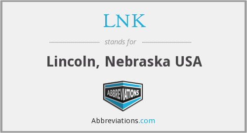 What does LNK stand for?