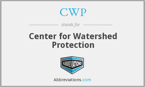 CWP - Center for Watershed Protection