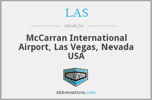 LAS - McCarran International Airport, Las Vegas, Nevada USA