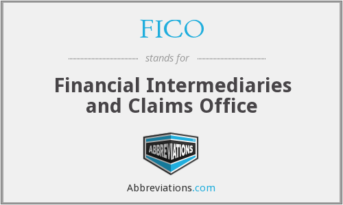 FICO - Financial Intermediaries and Claims Office