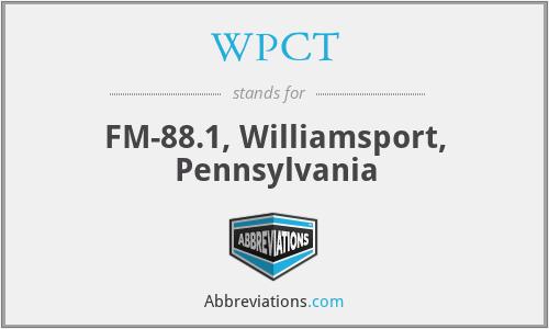 WPCT - FM-88.1, Williamsport, Pennsylvania