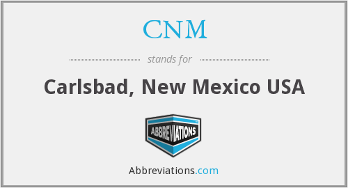 CNM - Carlsbad, New Mexico USA
