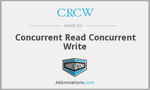 What does CRCW stand for?