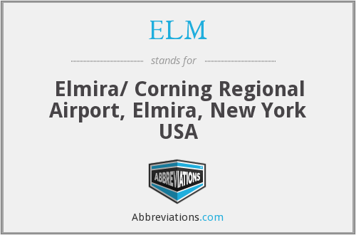 ELM - Elmira/ Corning Regional Airport, Elmira, New York USA