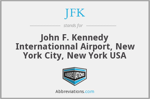 JFK - John F. Kennedy Internationnal Airport, New York City, New York USA