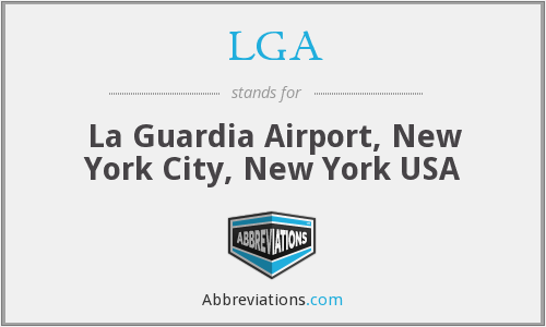 LGA - La Guardia Airport, New York City, New York USA