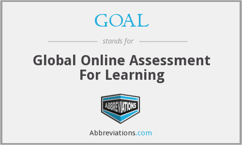 GOAL - Global Online Assessment For Learning