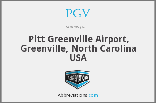 What does PGV stand for?