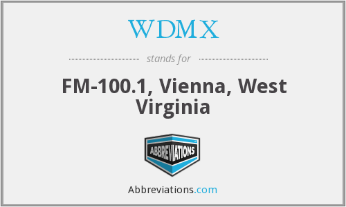 What does WDMX stand for?