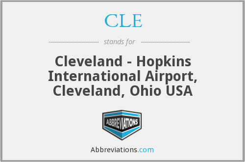 CLE - Cleveland - Hopkins International Airport, Cleveland, Ohio USA