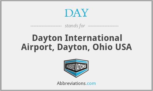 DAY - Dayton International Airport, Dayton, Ohio USA
