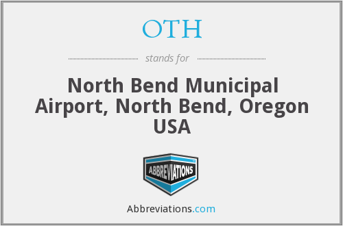 OTH - North Bend Municipal Airport, North Bend, Oregon USA
