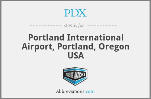 PDX - Portland International Airport, Portland, Oregon USA