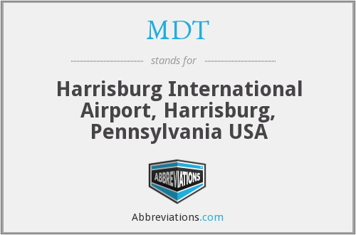 MDT - Harrisburg International Airport, Harrisburg, Pennsylvania USA