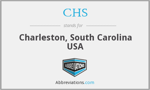 CHS - Charleston, South Carolina USA