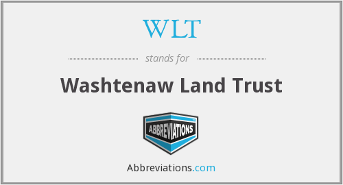 WLT - Washtenaw Land Trust