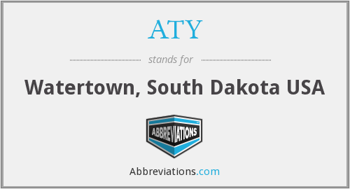 What does ATY stand for?