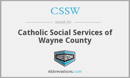CSSW - Catholic Social Services of Wayne County