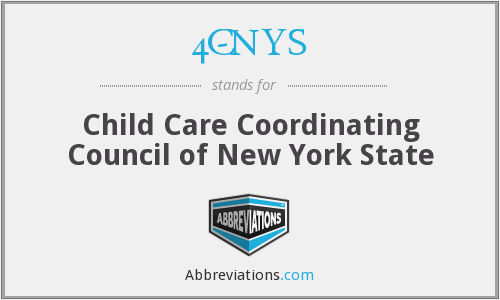 4C-NYS - Child Care Coordinating Council of New York State