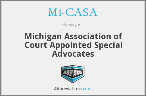 MI-CASA - Michigan Association of Court Appointed Special Advocates