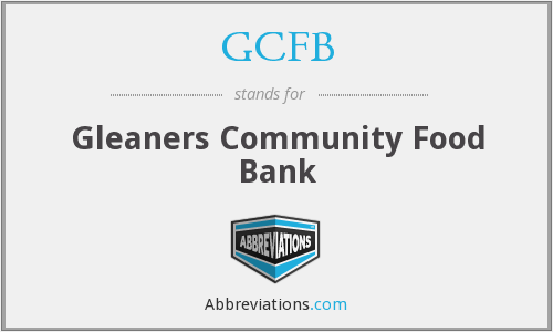 What does GCFB stand for?