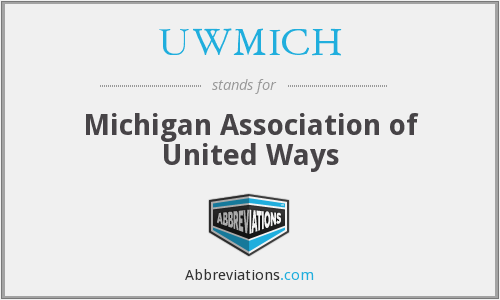 UWMICH - Michigan Association of United Ways